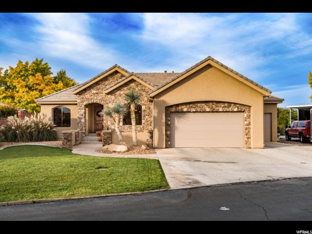 Single Family for Sale at 2984 S BUTTONBUSH Circle 2984 S BUTTONBUSH Circle St. George, Utah 84790 United States