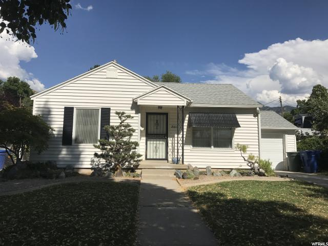 Home for sale at 2011 S Nevada St, Salt Lake City, UT  84108. Listed at 345000 with 3 bedrooms, 2 bathrooms and 1,518 total square feet