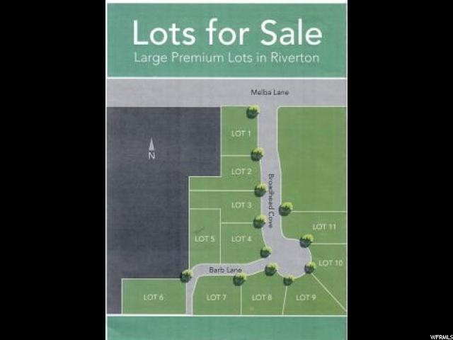 Land for Sale at 1593 W BARB Lane 1593 W BARB Lane Riverton, Utah 84096 United States