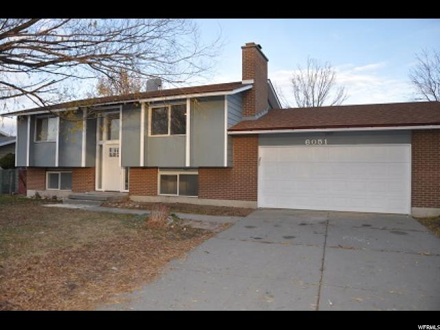 Single Family for Sale at 6051 S DON QUIXOTE 6051 S DON QUIXOTE Taylorsville, Utah 84129 United States