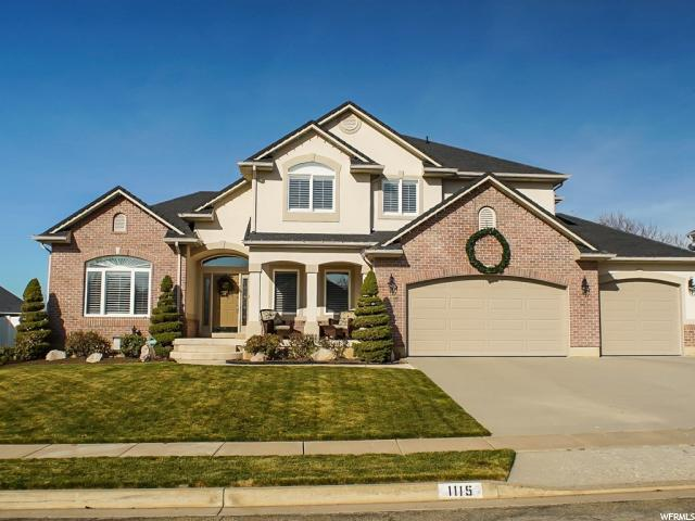 Single Family for Sale at 1115 E HOMESTEAD Lane 1115 E HOMESTEAD Lane Fruit Heights, Utah 84037 United States