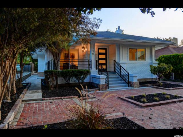 Home for sale at 1150 E Herbert Ave, Salt Lake City, UT 84105. Listed at 879000 with 5 bedrooms, 4 bathrooms and 3,693 total square feet