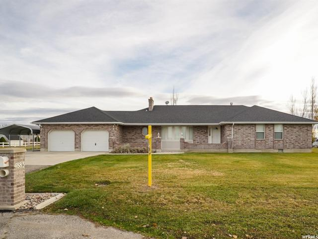Single Family for Sale at 4883 W 3000 S 4883 W 3000 S Taylor, Utah 84401 United States