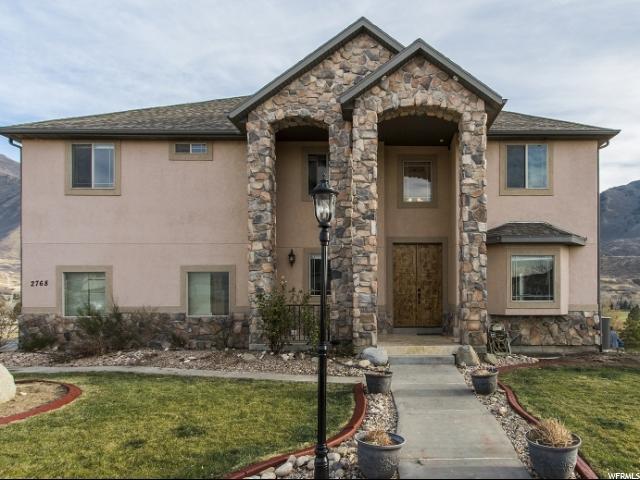 Single Family for Sale at 2768 E CANYON CREST 2768 E CANYON CREST Spanish Fork, Utah 84660 United States