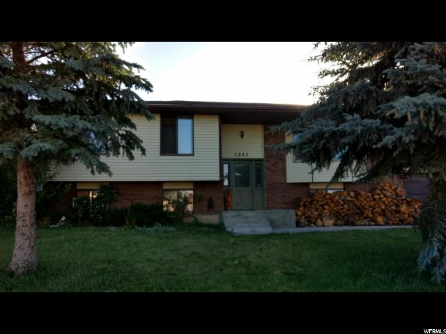 Single Family for Sale at 1551 HILLTOP Drive 1551 HILLTOP Drive Vernal, Utah 84078 United States