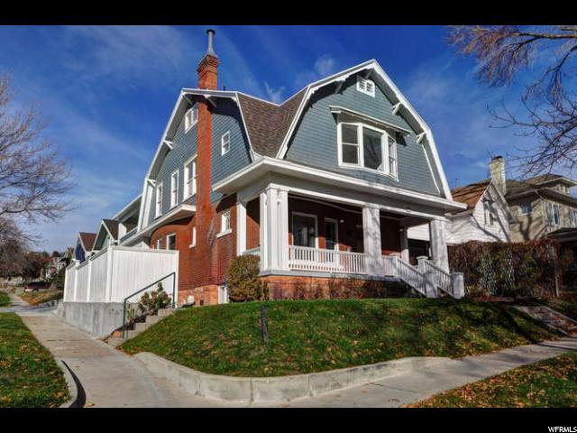 Single Family للـ Sale في 1153 E THIRD Avenue 1153 E THIRD Avenue Salt Lake City, Utah 84103 United States