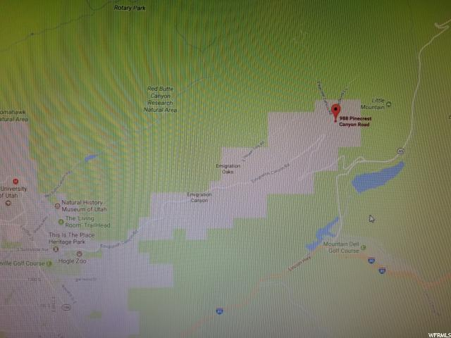 988 N PINECREST CANYON RD Emigration Canyon, UT 84108 - MLS #: 1494081
