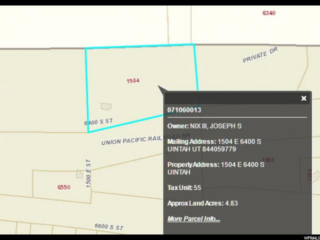 1504 E 6400 Uintah, UT 84405 - MLS #: 1494230
