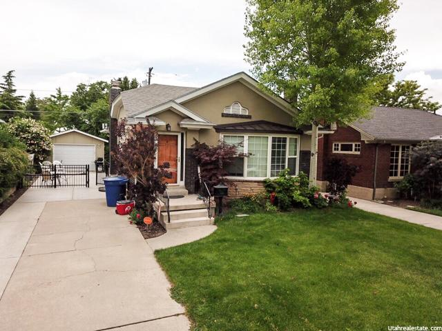 1638 E HARVARD AVE, Salt Lake City UT 84105