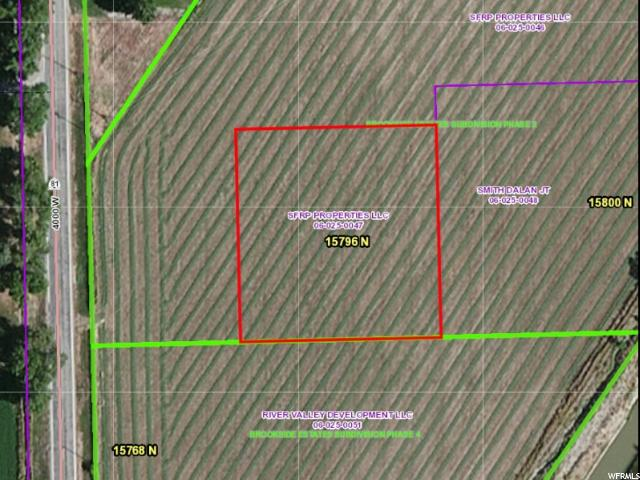 أراضي للـ Sale في 15796 N 4000 W 15796 N 4000 W Fielding, Utah 84311 United States