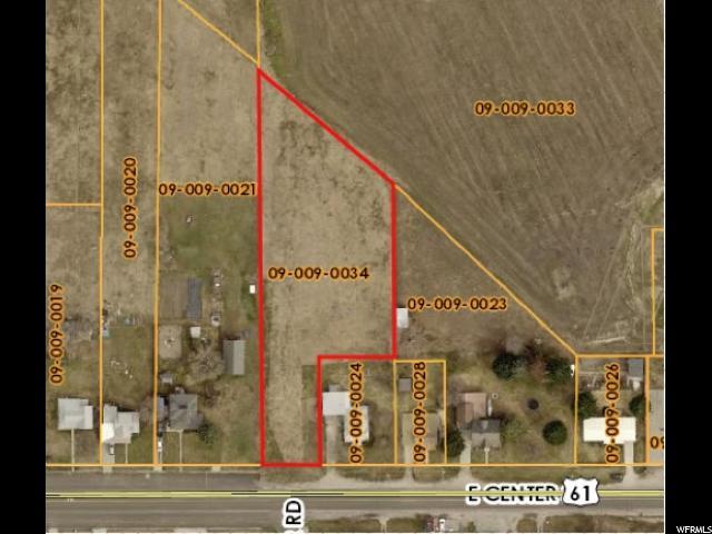 أراضي للـ Sale في 91 E CENTER 91 E CENTER Lewiston, Utah 84320 United States
