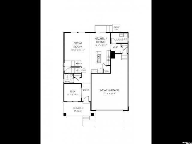 14862 S RUTLEDGE RD Unit 177 Bluffdale, UT 84065 - MLS #: 1495022