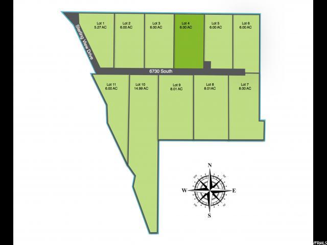 أراضي للـ Sale في 1343 W 6710 S 1343 W 6710 S Hyrum, Utah 84319 United States