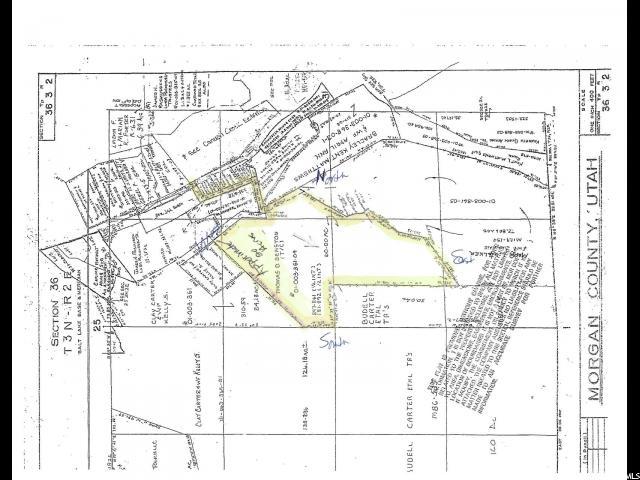 Terrain pour l Vente à 4480 S HWY 66 W 4480 S HWY 66 W Porterville, Utah 84050 États-Unis