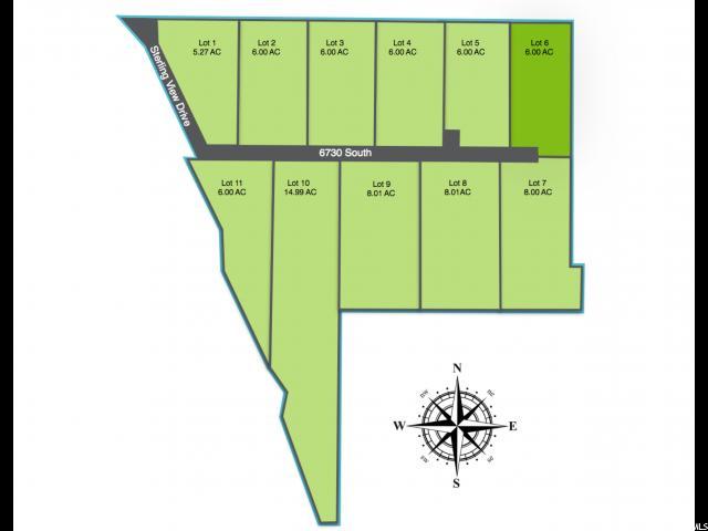 أراضي للـ Sale في 1231 W 6730 S 1231 W 6730 S Hyrum, Utah 84319 United States