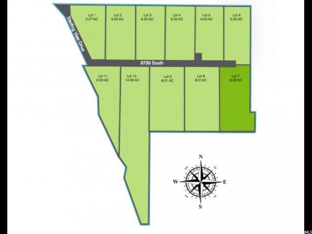أراضي للـ Sale في 1234 W 6730 S 1234 W 6730 S Hyrum, Utah 84319 United States