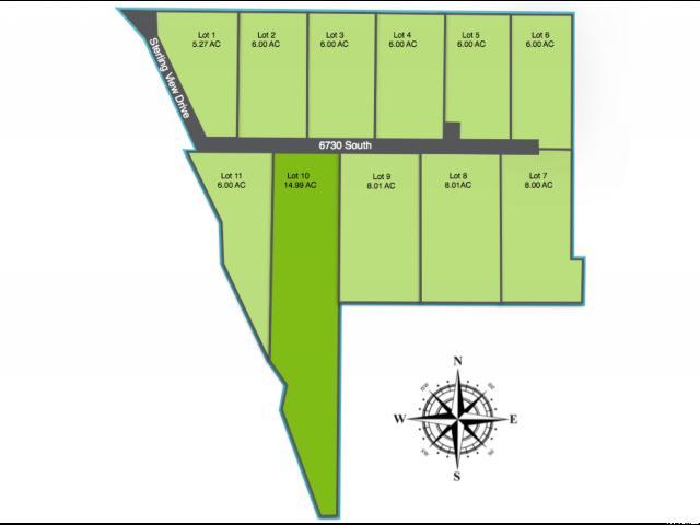 Terrain pour l Vente à 1452 W 6730 S 1452 W 6730 S Hyrum, Utah 84319 États-Unis