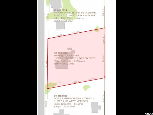 11021 S 2170 Payson, UT 84651 - MLS #: 1495612