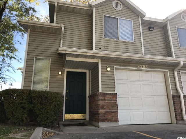 Maison accolée pour l à louer à 4505 S BELLAVERDE Court 4505 S BELLAVERDE Court Murray, Utah 84107 États-Unis