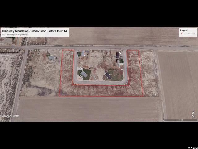 أراضي للـ Sale في 790 W 50 S 790 W 50 S Hinckley, Utah 84635 United States