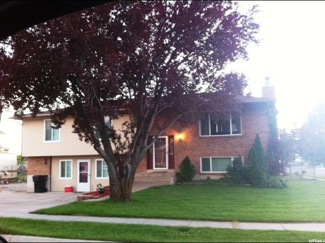 单亲家庭 为 销售 在 1361 N 550 W 1361 N 550 W West Bountiful, 犹他州 84087 美国
