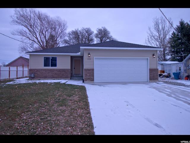 Один семья для того Продажа на 223 S 100 W 223 S 100 W Preston, Айдахо 83263 Соединенные Штаты