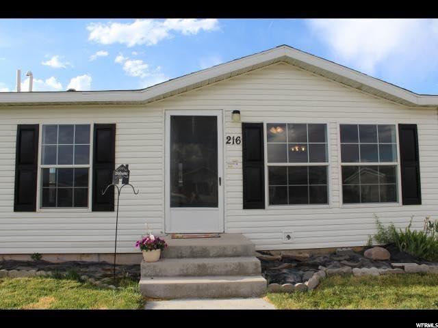 Single Family للـ Sale في 216 W 2100 S 216 W 2100 S Vernal, Utah 84078 United States