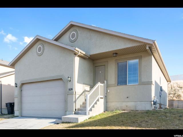 1674 E RIDGEFIELD RD Spanish Fork, UT 84660 - MLS #: 1496628