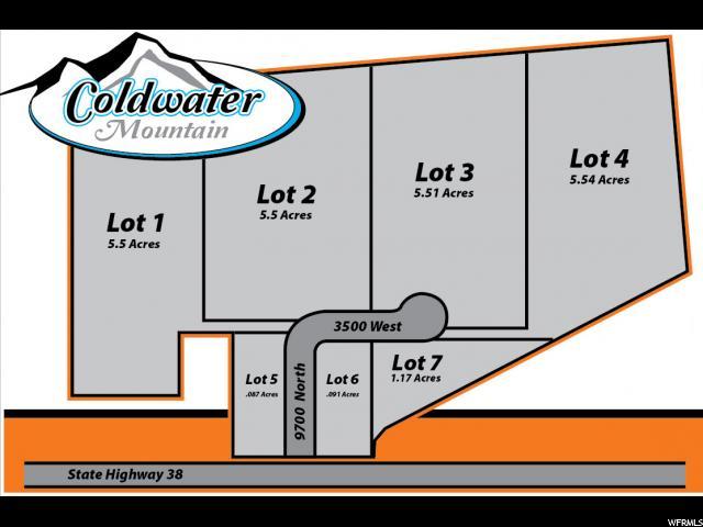 Terrain pour l Vente à 9707 N 3050 W 9707 N 3050 W Deweyville, Utah 84309 États-Unis