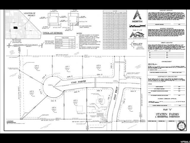 Land for Sale at 2141 W 1340 N 2141 W 1340 N Lehi, Utah 84043 United States