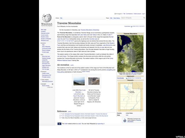 4611 N CREST RIDGE RD Lehi, UT 84043 - MLS #: 1497734
