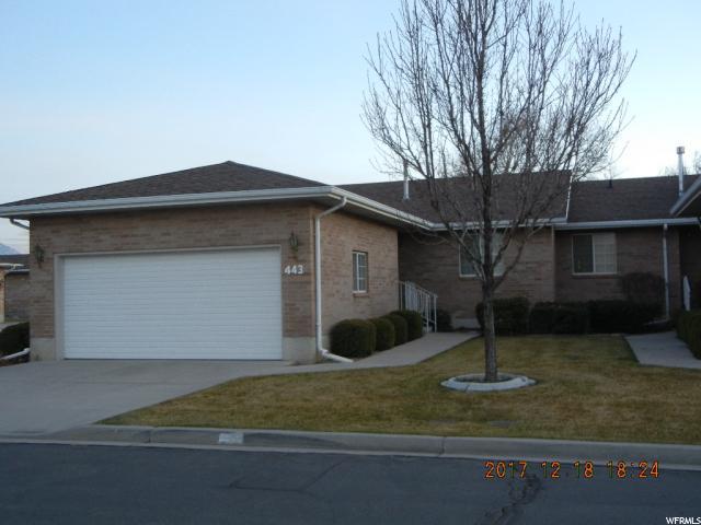 Maison accolée pour l Vente à 443 W 230 N 443 W 230 N Orem, Utah 84057 États-Unis