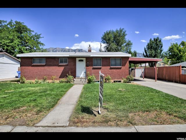 Single Family for Sale at 885 S 50 W 885 S 50 W Orem, Utah 84058 United States