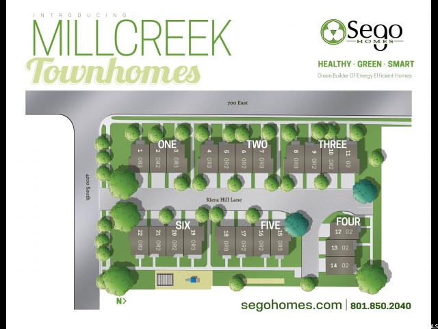 4173 S KIERA HILL LN Unit 13 Millcreek, UT 84107 - MLS #: 1498396