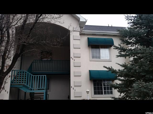 Appartement en copropriété pour l Vente à 653 W 1870 N 653 W 1870 N Orem, Utah 84057 États-Unis