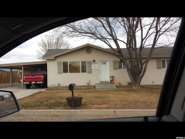 Single Family for Rent at 2600 W 1000 N 2600 W 1000 N Vernal, Utah 84078 United States