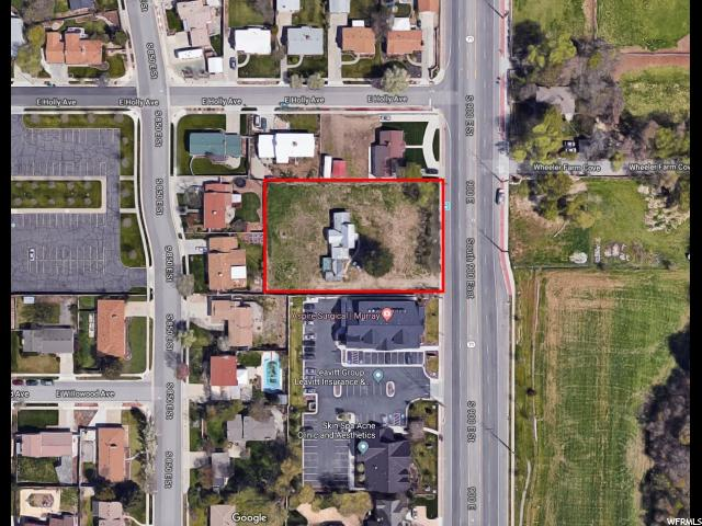Land for Sale at 6256 S 900 E 6256 S 900 E Murray, Utah 84121 United States