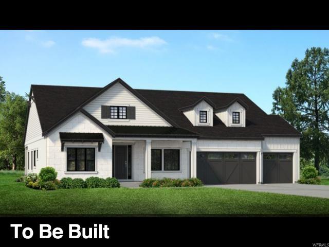 Single Family for Sale at 9284 S MONET Lane 9284 S MONET Lane Unit: LOT318 Cottonwood Heights, Utah 84093 United States