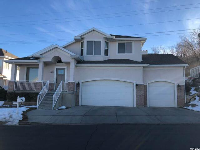 1085 BARTON CT Bountiful, UT 84010 - MLS #: 1499685
