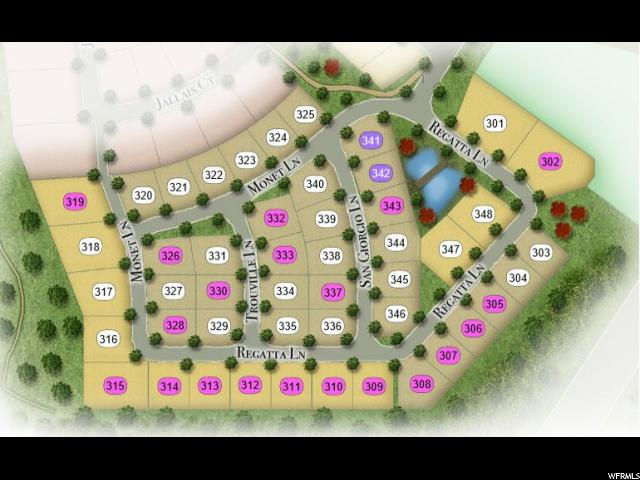 9292 S TROUVILLE LN Unit LOT331 Cottonwood Heights, UT 84093 - MLS #: 1499753