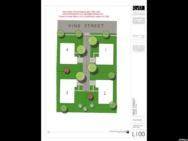 Terreno por un Venta en 1504 VINE Street 1504 VINE Street Murray, Utah 84121 Estados Unidos