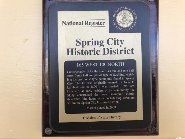 165 W 100 Spring City, UT 84662 - MLS #: 1500342