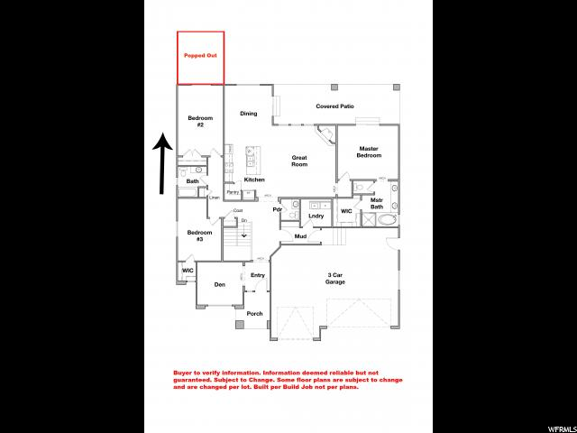 13669 W DESERT BRUMBY DR Unit 1 Herriman, UT 84096 - MLS #: 1500522