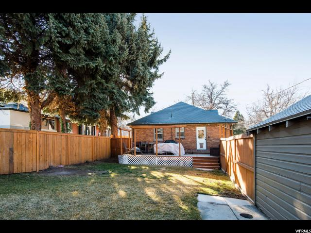 1151 E YALE AVE Salt Lake City, UT 84105 - MLS #: 1500682
