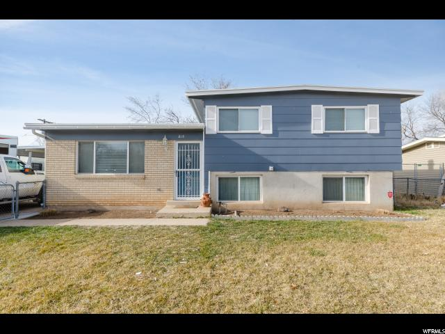 Single Family للـ Sale في 815 N 450 W 815 N 450 W Sunset, Utah 84015 United States