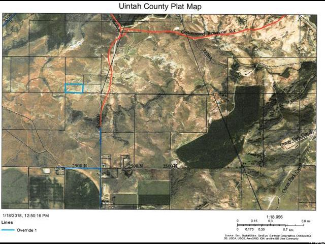 Terrain pour l Vente à 3032 N 9250 E 3032 N 9250 E Gusher, Utah 84026 États-Unis