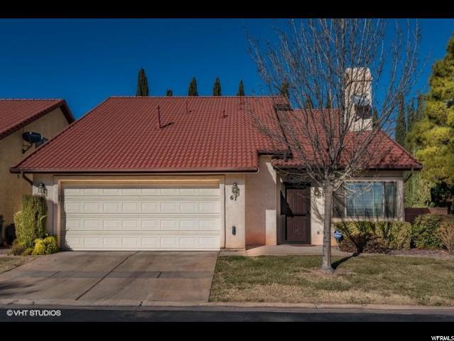Maison accolée pour l Vente à 301 S 1200 67 301 S 1200 67 St. George, Utah 84790 États-Unis
