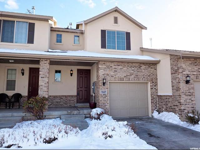 Townhouse for Sale at 7837 S TIGER Court 7837 S TIGER Court West Jordan, Utah 84081 United States