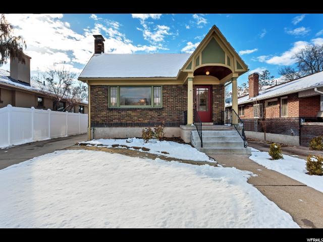 Unique la famille pour l Vente à 658 E BROWNING Avenue 658 E BROWNING Avenue Salt Lake City, Utah 84105 États-Unis