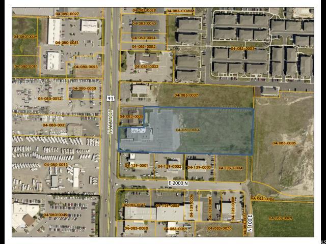 Terrain pour l Vente à 2044 N MAIN 2044 N MAIN North Logan, Utah 84341 États-Unis